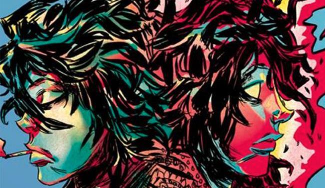 Particolare della cover di Wish You Were Here - Syd Barrett e i Pink Floyd