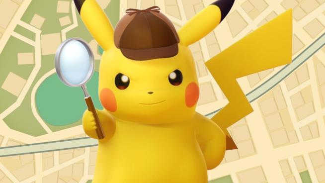 Pikachu nelle vesti dell'investigatore