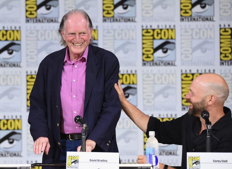 David Bradley al Comic-Con