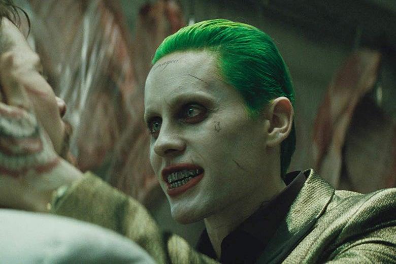 Un'immagine del Joker interpretato da Jared Leto