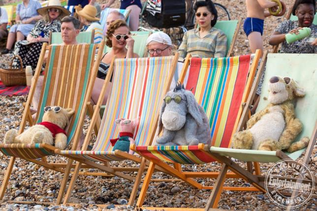 Winnie the Pooh, Pimpi, Ih-oh e Tigro in una scena del film