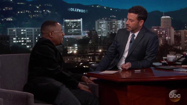 Martin Lawrence ospite al Jimmy Kimmel Live