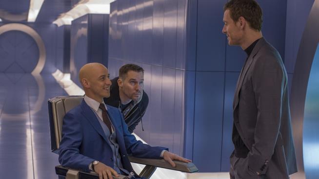 Sul set di X-Men: Apocalisse con regista e attori