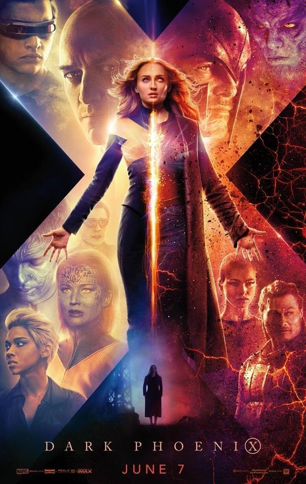 La locandina di X-Men: Dark Phoenix