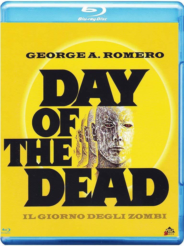 Copertina del cofanetto Blu-ray di Day Of The Dead