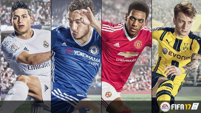 FIFA 17 di Electronic Arts