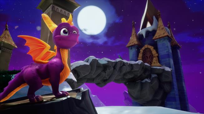L'aspetto di Spyro nella raccolta Spyro Reignited Trilogy