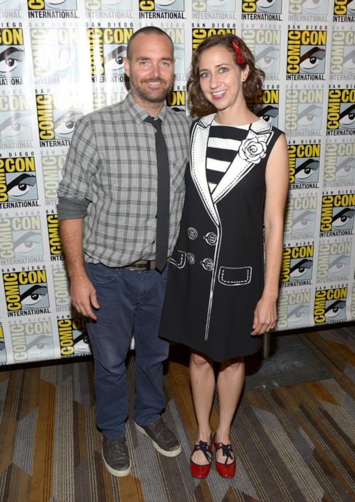 Will Forte e Kristen Schaal al Comic Con 2016