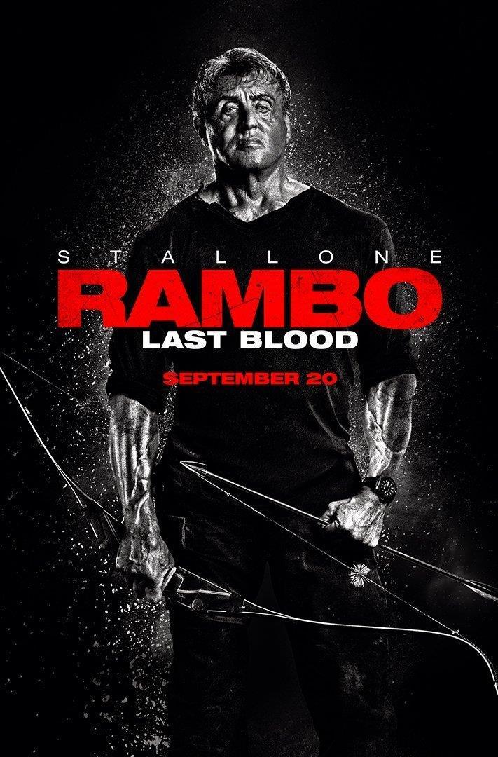 Il poster di Rambo: Last Blood
