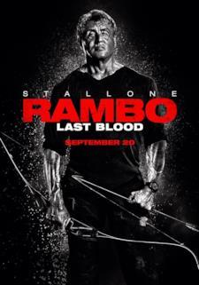 Il poster internazionale di Rambo V