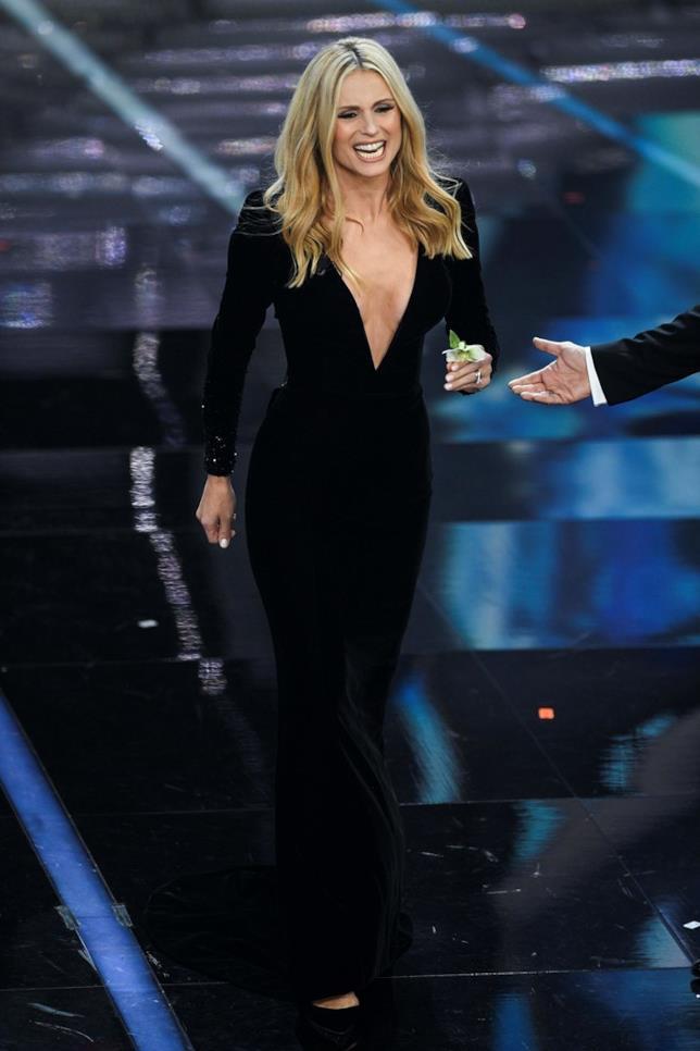 Michelle Hunziker a Sanremo 2018