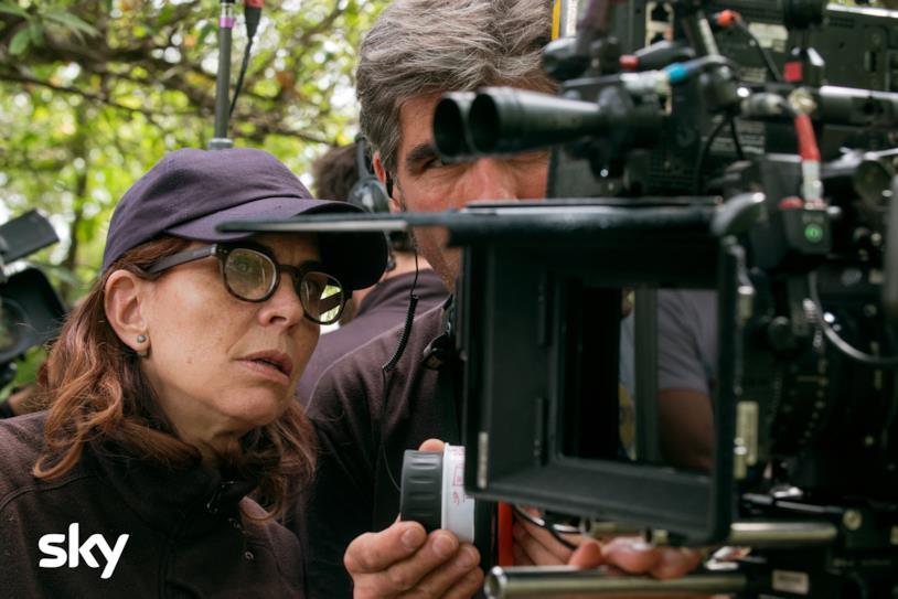 Francesca Comencini sul set di Gomorra 4