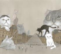 I gatti di Taiyo Matsumoto al Louvre