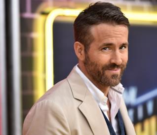 L'attore Ryan Reynolds