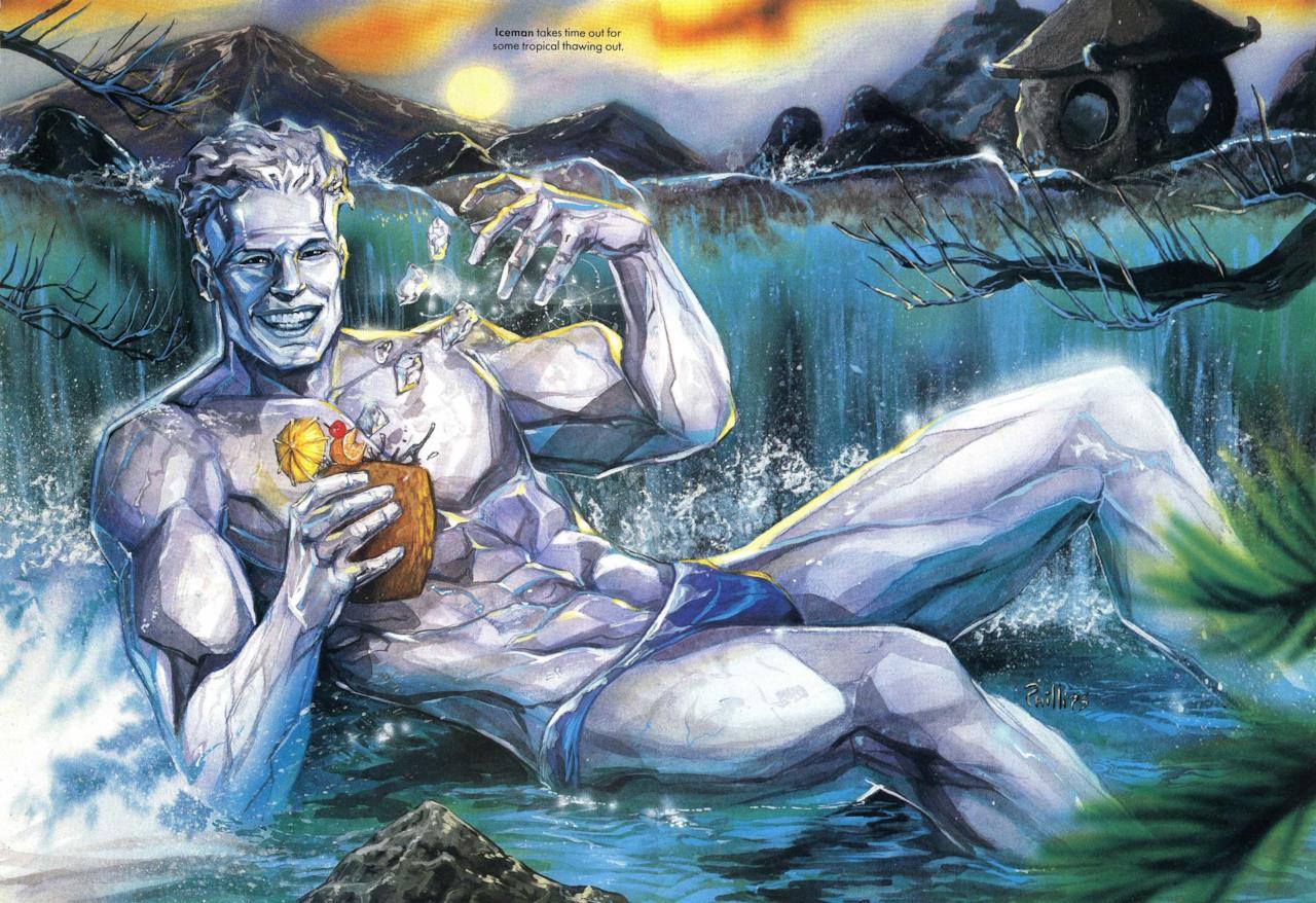Marvel Swimsuit Special: Uomo Ghiaccio