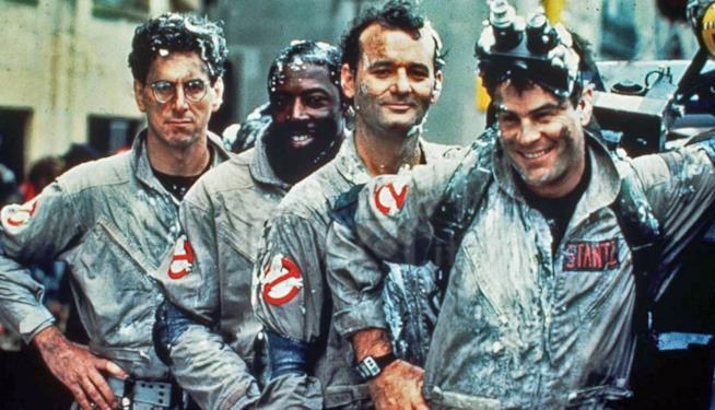 Il cast di Ghostbusters 1984