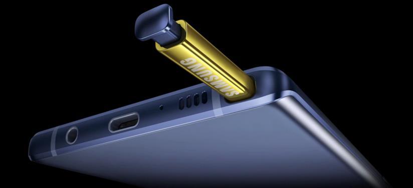 Immagine stampa del Samsung Galaxy Note 9