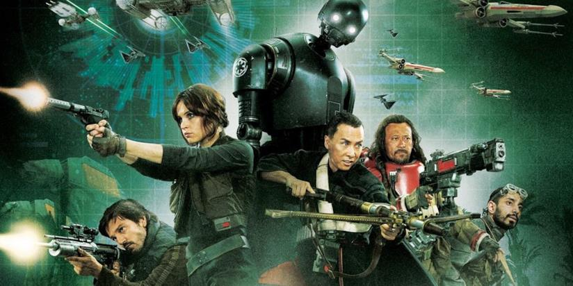 Un poster di Rogue One: A Star Wars Story