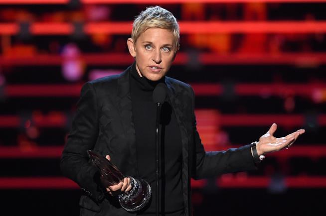 Primo piano di Ellen DeGeneres