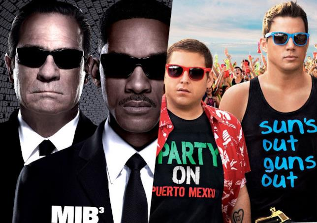 Poster di Men in Black e 21 Jump Street