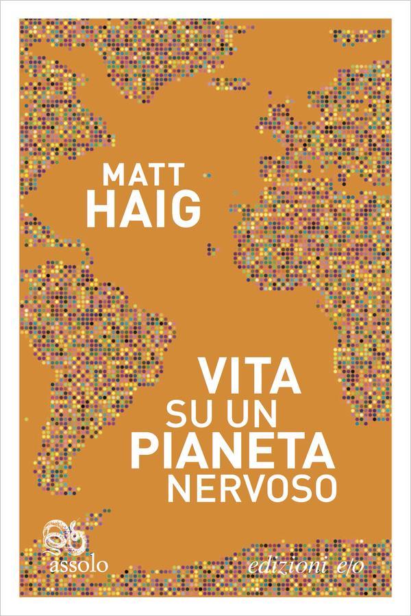La copertina italiana di Vita su un pianeta nervoso