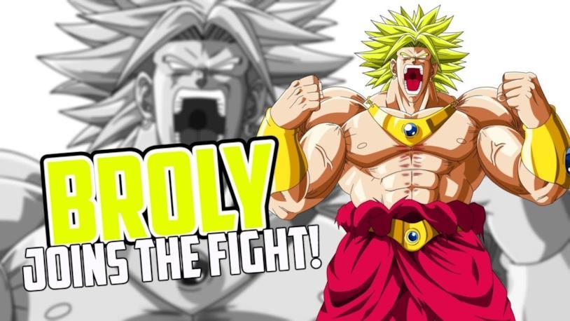 Broly nel primo DLC di Dragon Ball FighterZ