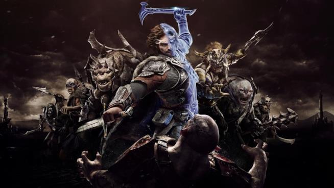 Eroi e nemici sulla cover de La Terra di Mezzo: L'Ombra della Guerra