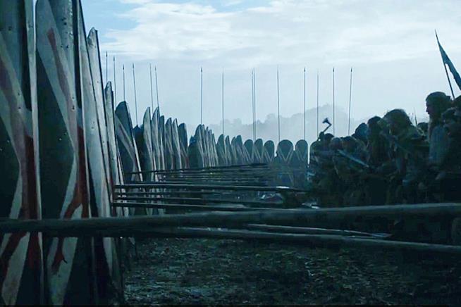 La battaglia di Game of Thrones 6