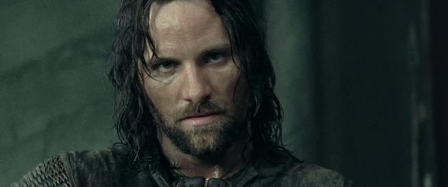 Viggo Mortensen è Aragorn nella trilogia de Il Signore degli Anelli