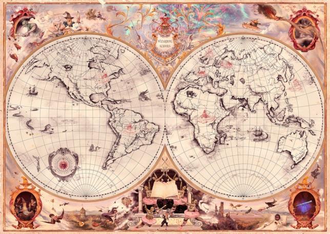 Le scuole di magia sparse per il mondo