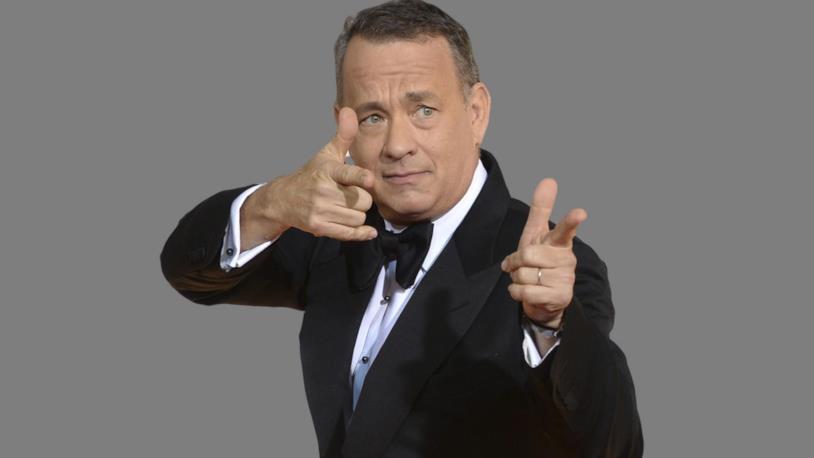 Tom Hanks in completo elegante