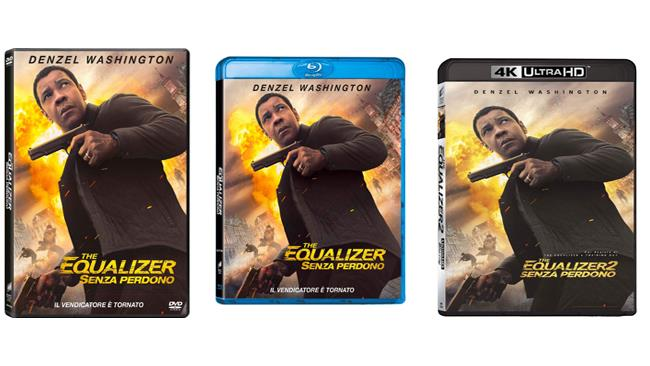 The Equalizer 2 - Home Video - DVD - Blu-ray - 4K UHD