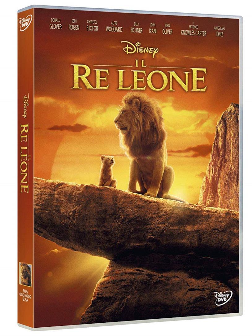 Il Re Leone - il film in formato DVD