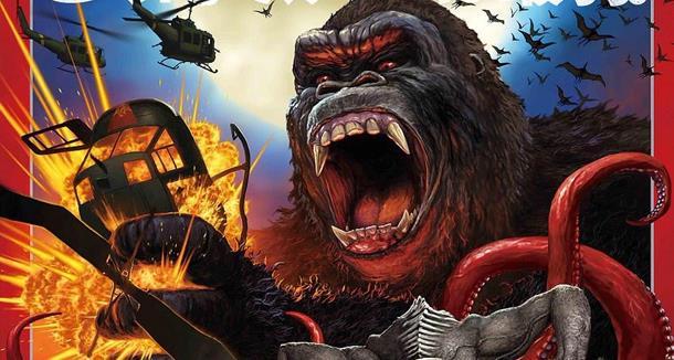 Kong e le creature di Skull Island