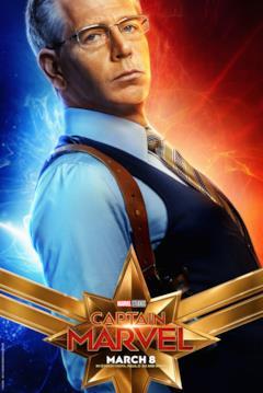 Il character poster di Captain Marvel con Talos (Ben Mendelsohn)