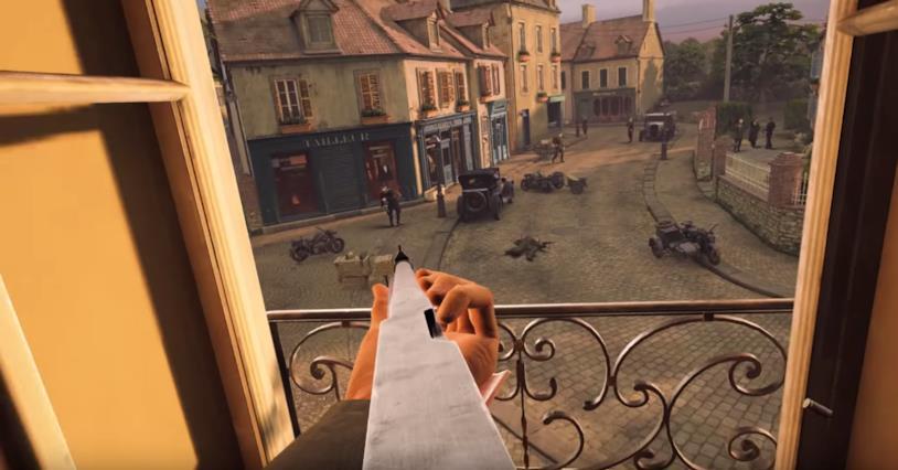 Un'immagine dal trailer di annuncio di Above and Beyond