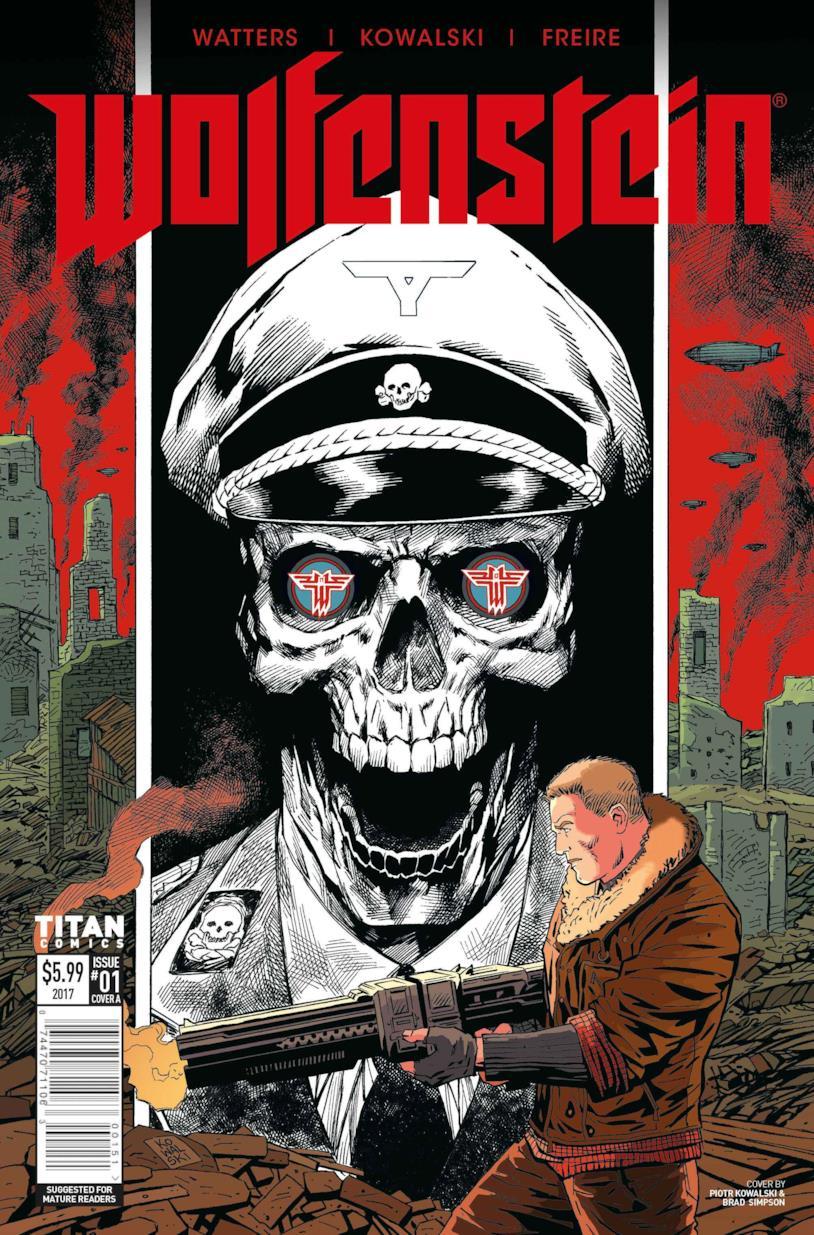 Il fumetto di Wolfenstein
