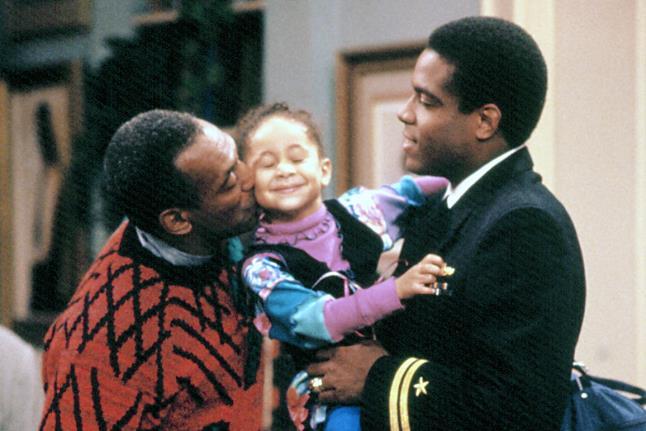 Cliff Robinson interpretato da Bill Cosby insieme a Martin ed Olivia Kendall, rispettivamente interpretati da Joseph C. Phillips e Raven-Symoné