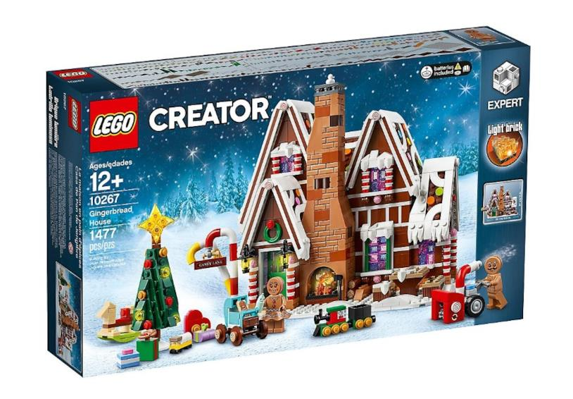 La Casa di pan di zenzero per Natale 2019