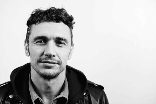 Primo piano di James Franco