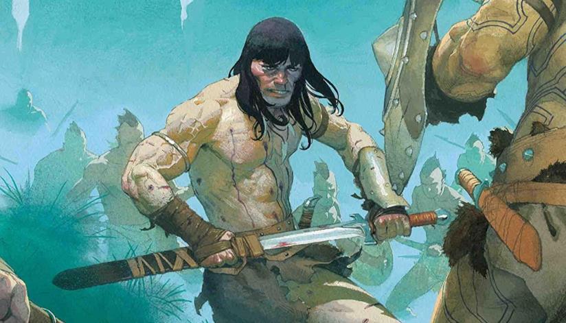 Copertina di Conan The Barbarian #2