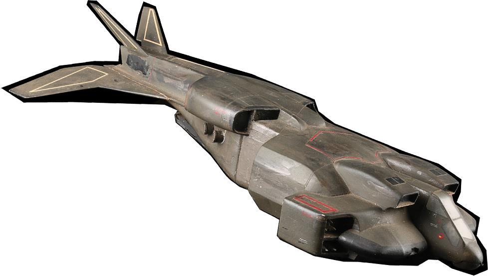 Un modello in scala di un veicolo di Aliens - Scontro finale