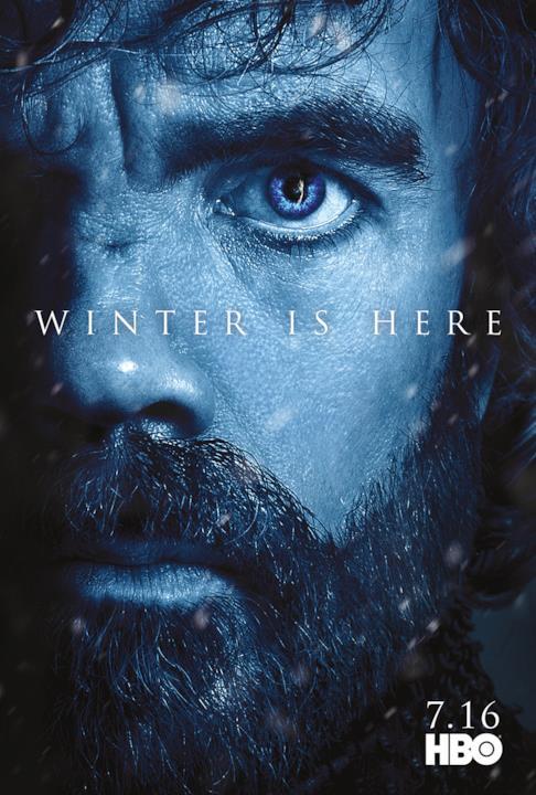 GOT 7: Tyrion Lannister con il Re della Notte visibile nell'occhio