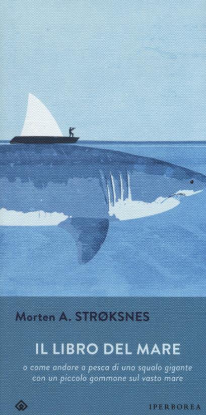 La copertina italiana di Il libro del Mare