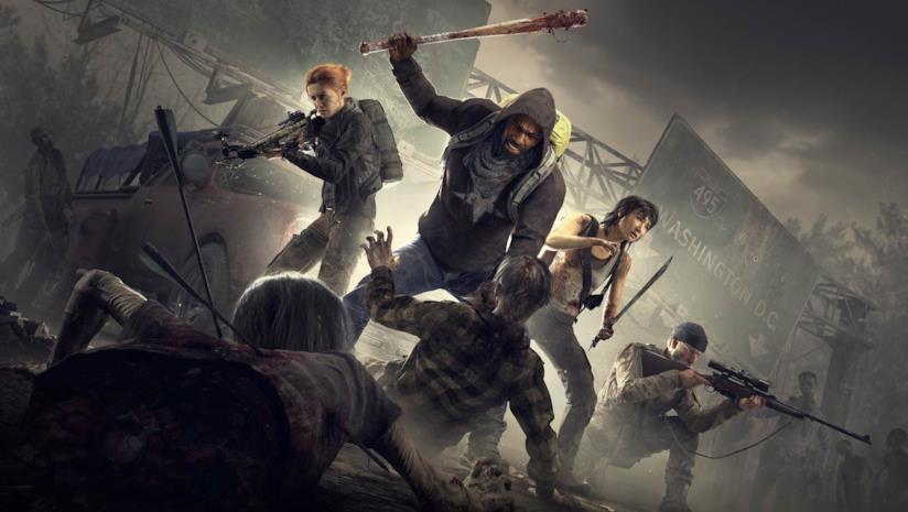 I quattro sopravvissuti che conosceremo in Overkill's The Walking Dead