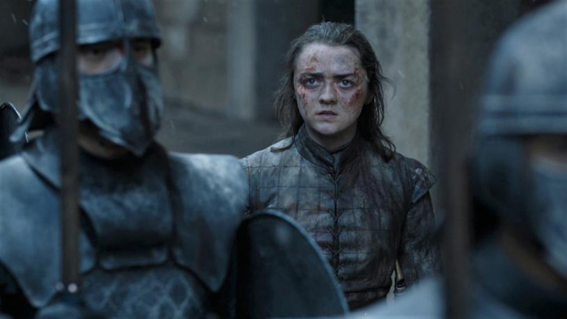 Maisie Williams in Game of Thrones 8x06