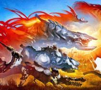 Lo splendido artwork di Horizon: Zero Dawn apparso su Game Informer