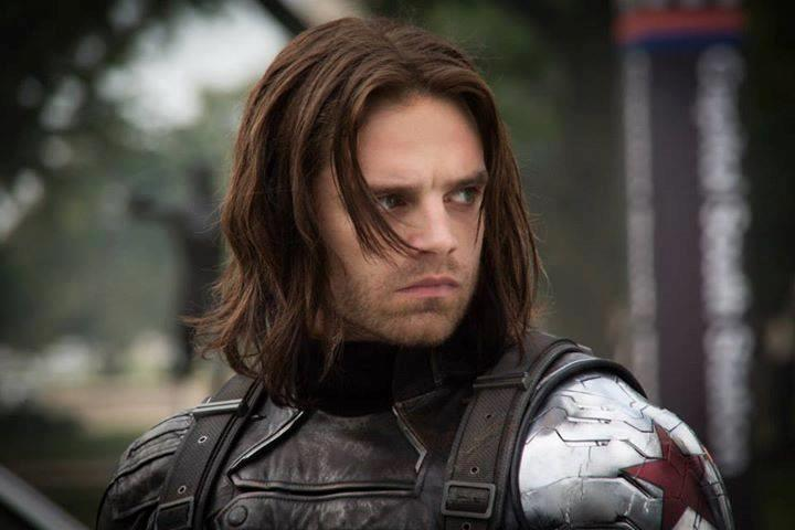 Sebastian Stan come Bucky Barnes in Captain America: Civil War