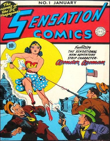 Wonder Woman, la copertina del primo numero