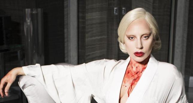 Lady Gaga sporca di sangue in American Horror Story